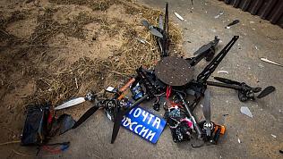 Дрон «Почты России» потерпел крушение при взлете