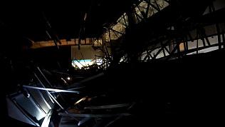 Видео из под завалов в ТРК «Слон»