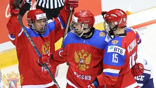 Сборная России одержала первую победу в юниорском Чемпионате мира по хоккею