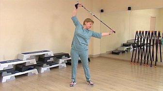 Светлана Макаревич показала простые упражнения для поддержания спины в тонусе