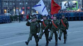 В Челябинске состоялась вторая репетиция парада Победы