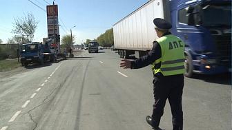 Автоинспекторы проводят рейд по пассажирским автобусам
