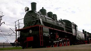 Школьникам показали железнодорожный музей