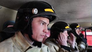 Журналисты провели с пожарными целый день