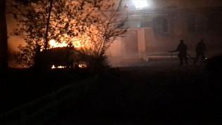 Автомобиль сгорел ночью в Миассе