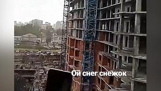 Жители Челябинска шокированы выпавшим в мае снегом