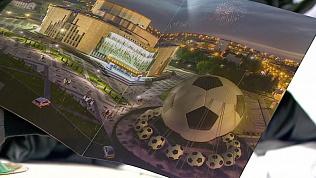 20-метровый футбольный мяч из Челябинска побил рекорд книги Гиннеса
