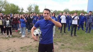 Челябинск присоединился к флешмобу «Усы надежды»