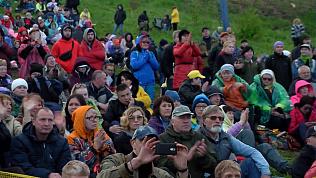 Ильменский фестиваль прошел под дождем