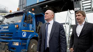 Экологичный и транспортабельный асфальтобетонный завод открыли в Челябинской области