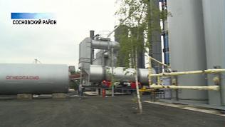 Новый асфальтовый завод открыли по технологиям немцев