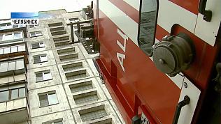 В Челябинске девочка чуть не выпала из окна