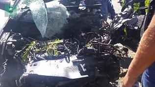Водителей столкнувшихся автомобилей спасли очевидцы под Челябинском