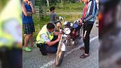 Полицейские в погоне за подростками попали в ДТП
