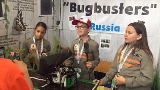 Робота, защищающего растения от насекомых, изобрели южноуральские инженеры