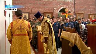 В день ВДВ десантники и летчики пришли в церковь