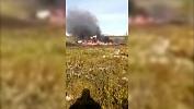 Крушение вертолета с вахтовиками попало на видео