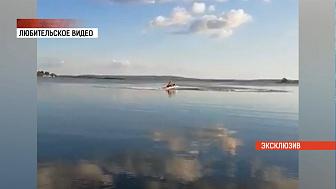 Эксклюзивное видео с утонувшей в Чебаркуле школьницей