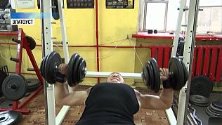 Никита Журавский продолжает тренировки
