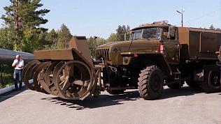 Машины из Миасса отправляют на форум «Армия-2018»