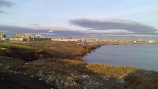 Завершается строительство разделительной дамбы в Магнитогорске