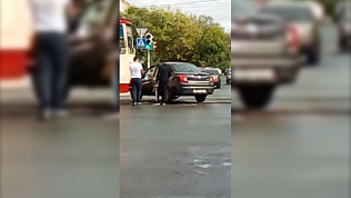 Трамваи встали из-за ДТП в Ленинском районе Челябинска