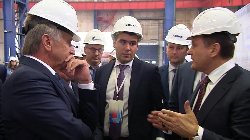 «НОВАТЭК» провел большую встречу российских промышленников на площадке компании «КОНАР»