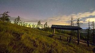 Северное сияние над Кыштымом сняли фотографы