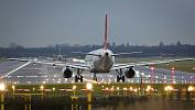 Багажный МАЗ врезался в самолет в челябинском аэропорту