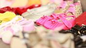 Десятки ботиночек выставят в Челябинске в память о неродившихся малышах