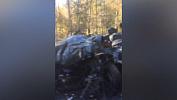 Крупная авария унесла жизни двоих людей на серпантине