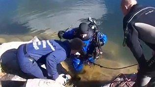 Труп был обнаружен спасателями на территории карьера в Металлургическом районе