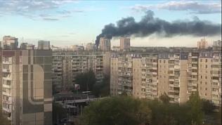 Пожар в жилом доме частного сектора на Северо-Западе