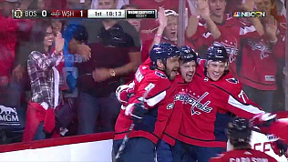 Евгений Кузнецов оформил дубль в первой игре регулярного чемпионата НХЛ