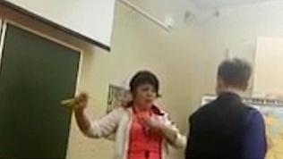 Учительница из Северодвинска наказывает учеников скакалкой