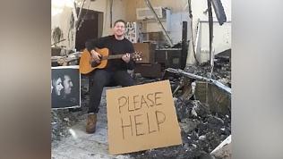 Погорелец-битломан из Казахстана попросил помощи у Пола Маккартни
