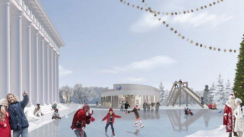 В Троицке проведут масштабную реконструкцию Центральной площади