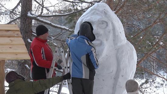 Ледяной йети поразил жителей региона