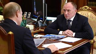 Борис Дубровский доложил Владимиру Путину о ходе работ в Магнитогорске