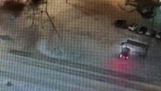 ДТП на остановке в Озерске зафиксировала камера видеонаблюдения