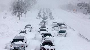 Сильные снегопады надвигаются на Челябинскую область