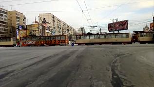 Ликвидации коммунальной аварии на перекрестке Молодогвардейцев-Победы