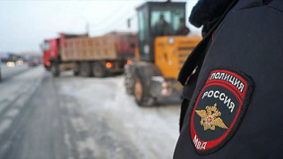 Автоинспекторы контролируют уборку снега в Челябинске