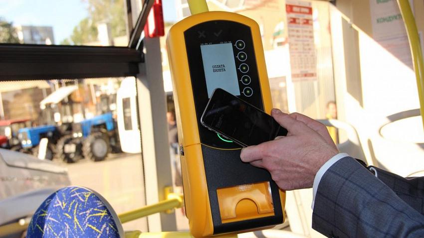 Проезд в муниципальном транспорте Челябинска можно будет оплатить смартфоном