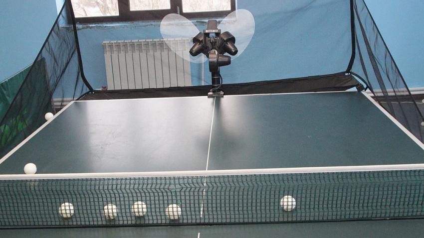 В центре Челябинска открылся новый зал для настольного тенниса
