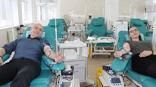 331 южноуралец сдал кровь в День всех влюбленных