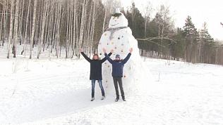 Лепка снеговиков стало прибыльным занятием из-за блогеров. Соревнуется и Миасс