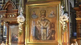 Мощам Николая Чудотворца поклонятся жители Кыштыма
