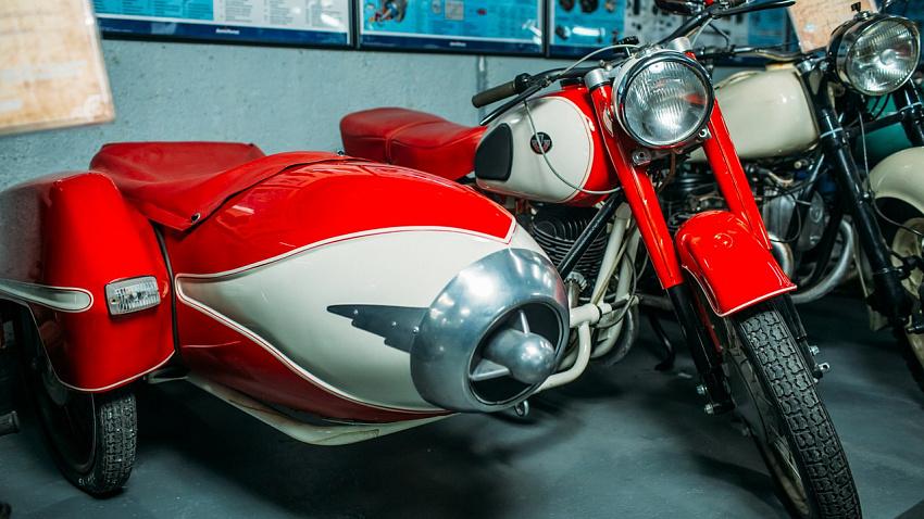В Челябинске открылась выставка ретро-мотоциклов