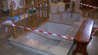 Прихожанка упала в купель в храме Челябинска